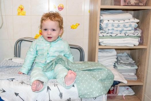 Shoplog: Wibra babykleding Flanellen pyama rompers van wibra