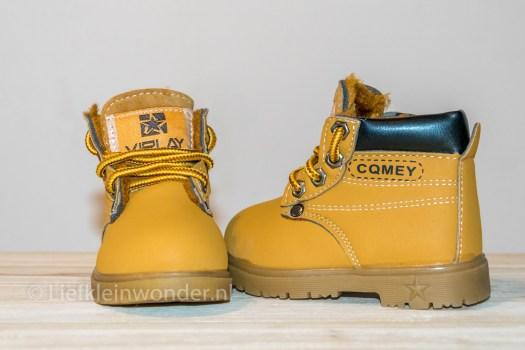 AliExpress babykleding -babyschoenen boots, timberland geel
