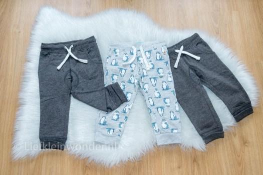 Shoplog Hema babykleding - baby joggingbroek van Hema
