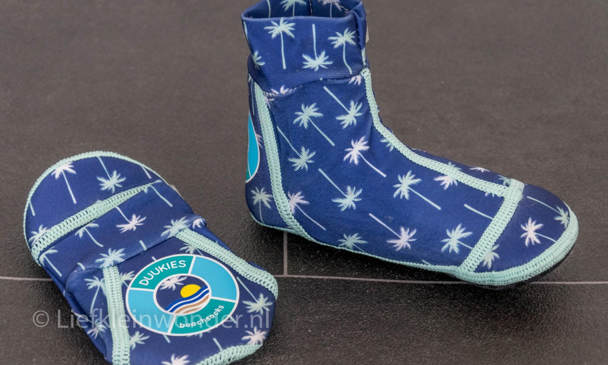 Duukies Beachsocks strand sokken waterschoenen - pakketje Duke
