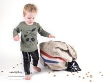 Minis Only sint shirt met naam en pepernoten zakje review product fotografie fotoshoot