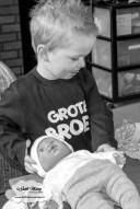 Zwanger in de eerste ronde met clomid 50mg temperatuur kaartje ovulatie test zwangerschapstest 9dpo 10dpo 11dpo 12dpo 13dpo zwangerschap bekendmaking kindersurprise grote broer shirt bedrukt