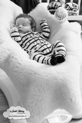 Automatische Wipstoel Baby.Finley 10 Weken Oud Spruw En Oe Fan Liefkleinwonder