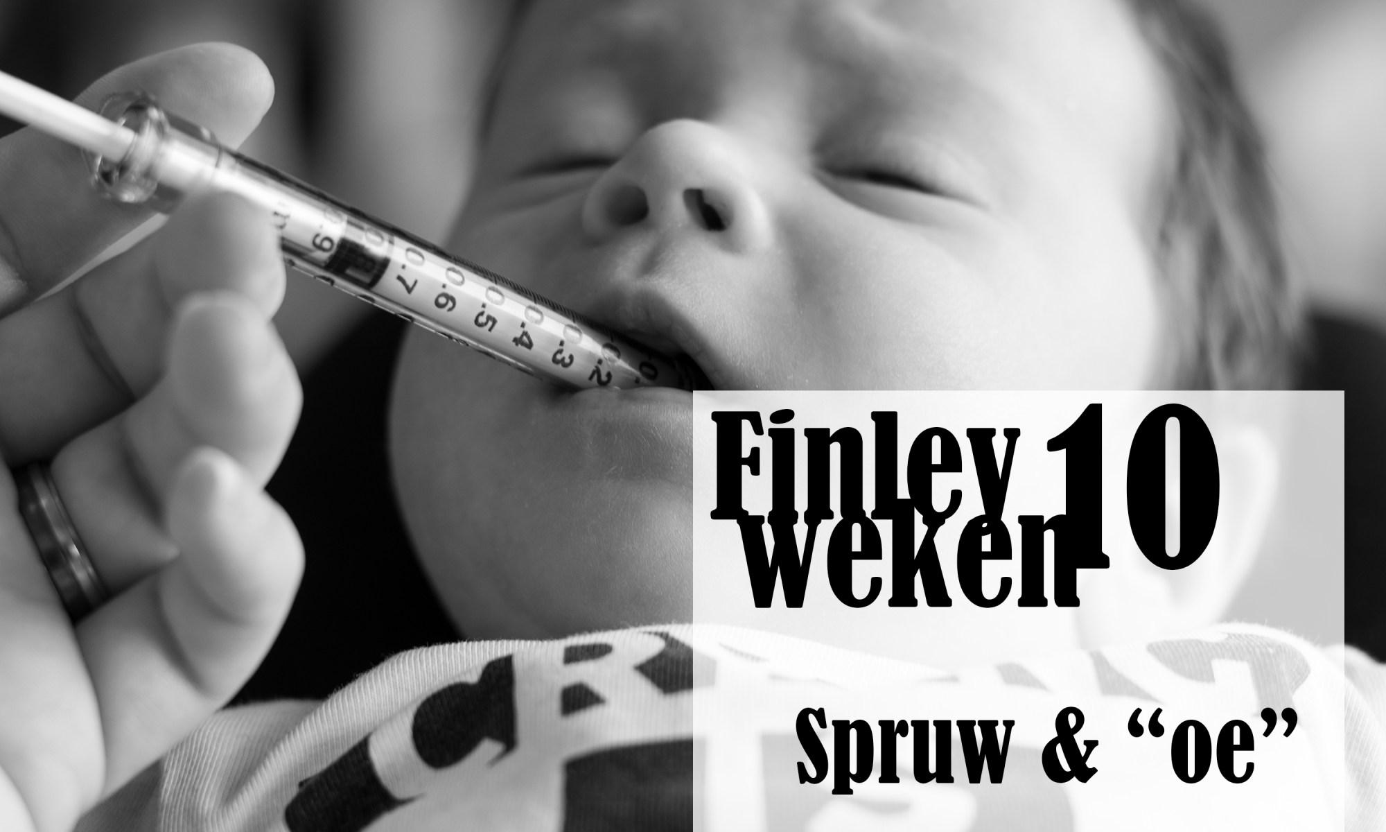 Finley 10 weken oud spruw 4moms mamaroo baby newborn ontwikkeling borstvoeding lachen babbelen mama blog www.liefkleinwonder.nl
