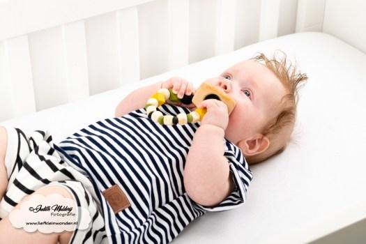 Brandrep babykleding baby zomerkleding review hip by (b)engel mama blog www.liefkleinwonder.nl shoplog jongen zwart wit streepjes short bloomer korte broek shirt