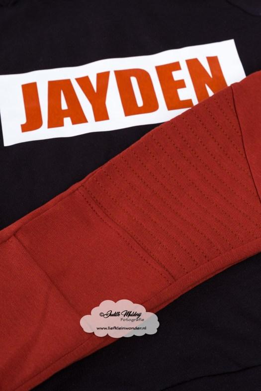 Bedrukte kleding hoodie met naam snapback pet crea by corine goedkoop review blog kinderkleding