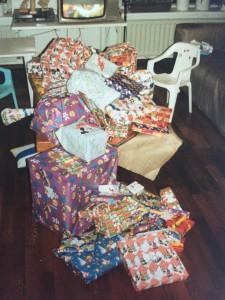 De cadeautjes waren bezorgd