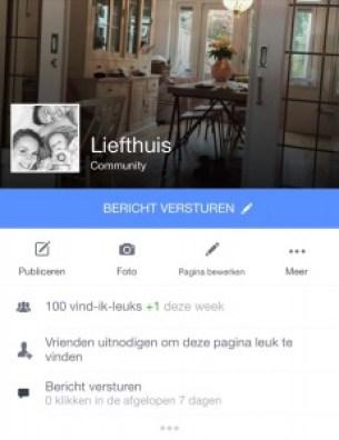facebook Lief thuis