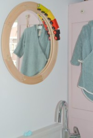 spiegel babykamer