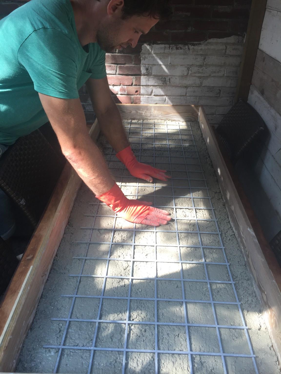 Top How to: Betonnen tuintafel maken...met fotobeschrijving - DIY DC76