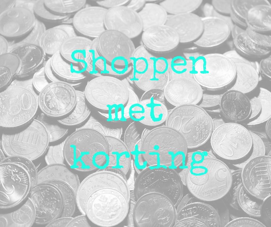 Shoppen met korting voor jezelf en je spruit…