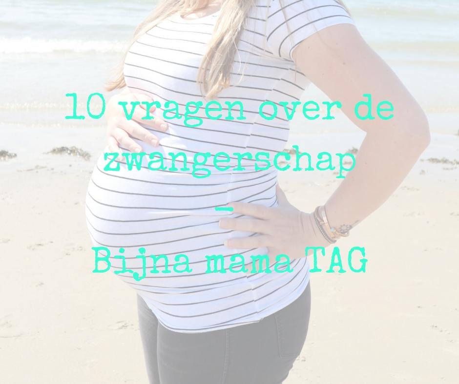 Bijna mama….10 vragen over de zwangerschap – TAG