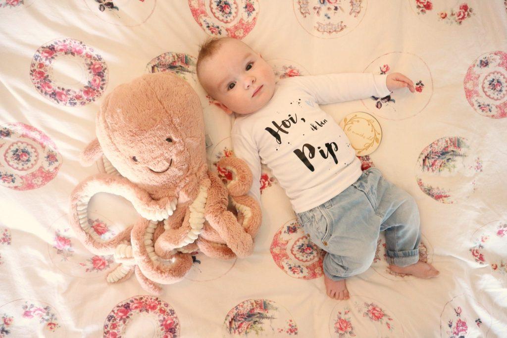 Pip 6 maanden: Update…stomme mijlpaal maar wel een mega knap kind…