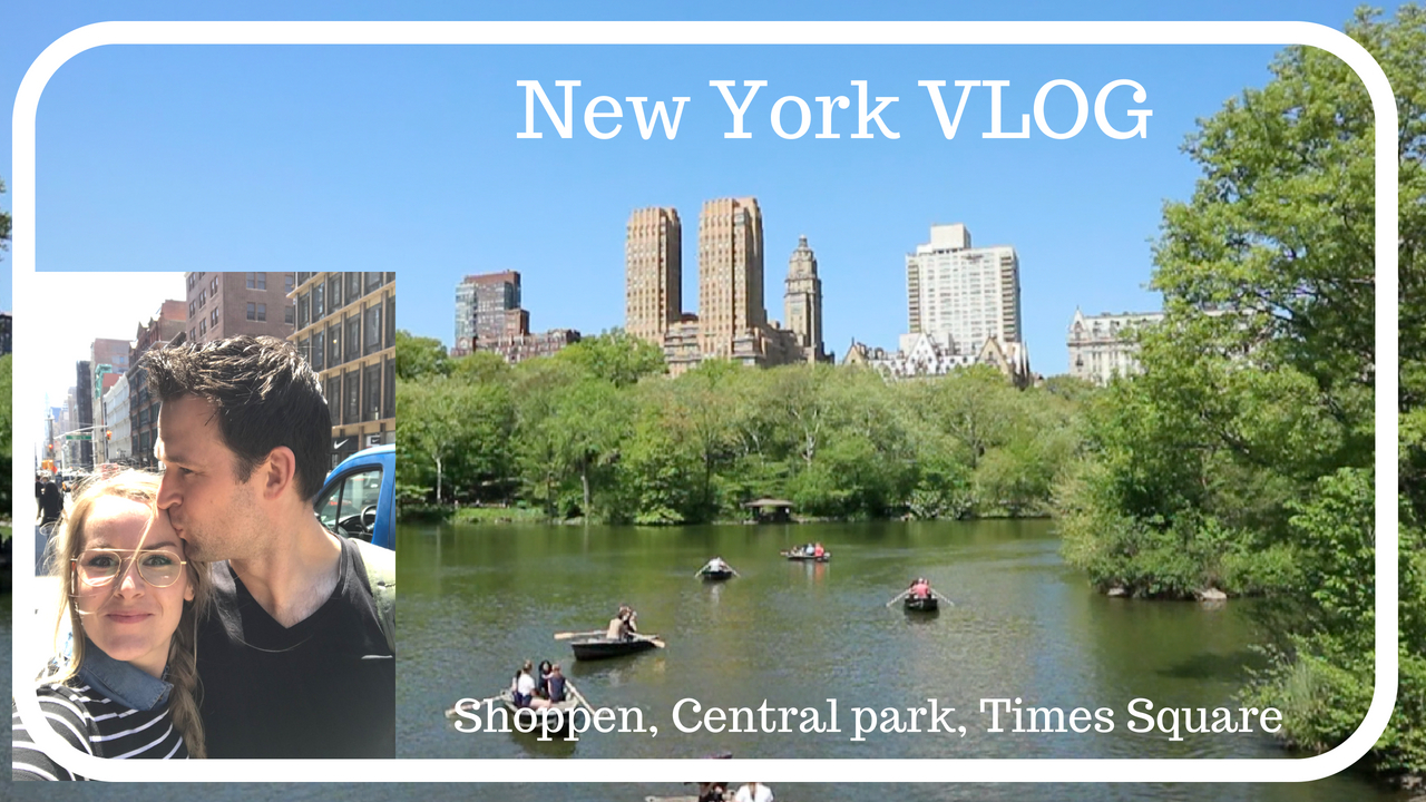 NEW YORK vlog 1: Shoppen, Central park en Times square