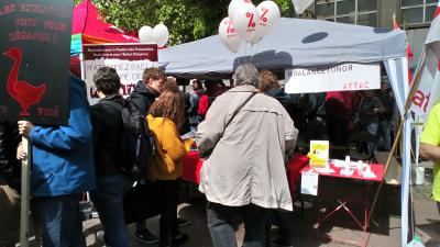 1er Mai Place Saint Paul à Liège
