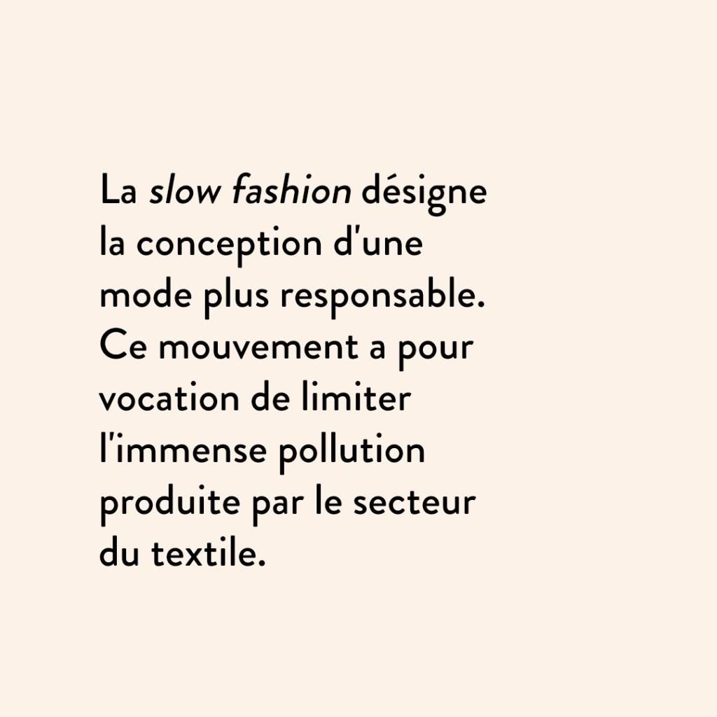 exemple publication Instagram astuce slow fashion