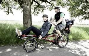 tandem Hase Pino komfortabel Radfahren