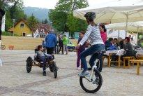 Monobike und Dreirad