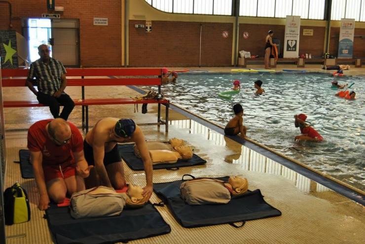1er secours 40 ans piscine 1