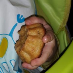 Ķirbja un ābolu pankūku mīklas kēksiņi
