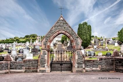 Patrick Paddy Dougherty, Friedhof Downpatrick, Foto: Rolf G. Wackenberg