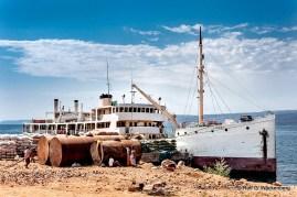 Die Liemba in Kasanga, Foto/Copyright: Rolf G. Wackenberg