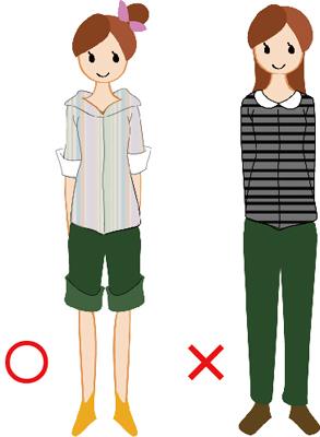 身長,低い,ファッション,女,コーデ,コーディネート