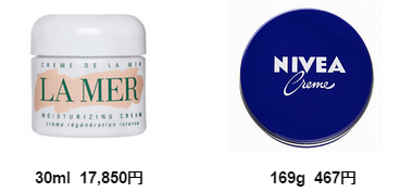 ニベア,青缶,効果,使い方,比較,高級クリーム