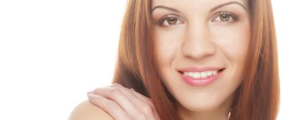 美肌の30代女性