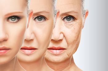 老化していく肌