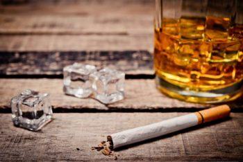 アルコールとタバコ