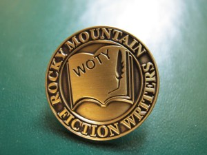 RMFW Writer of the Year Pin