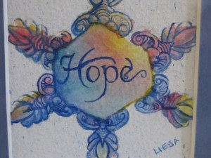Hope Snowflake artwork