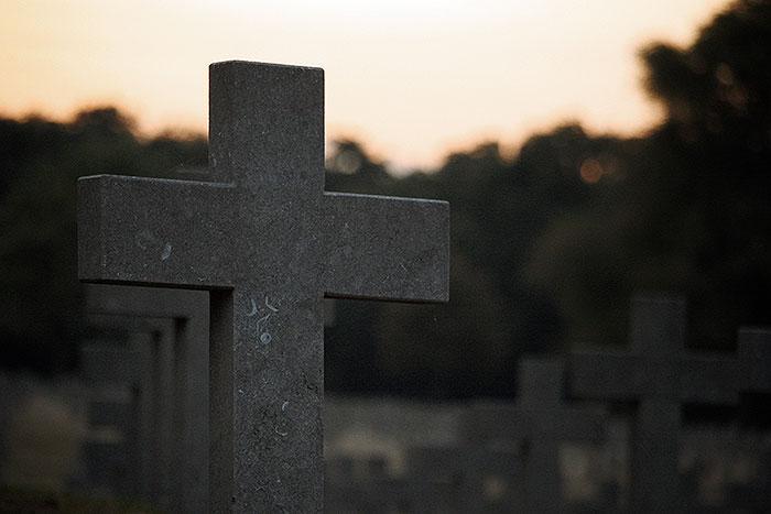 Duitse begraafplaats Ysselsteyn Limburg.