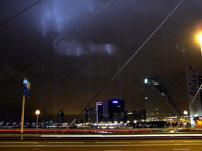 De Rotterdamse brandgrens verlicht in 2007