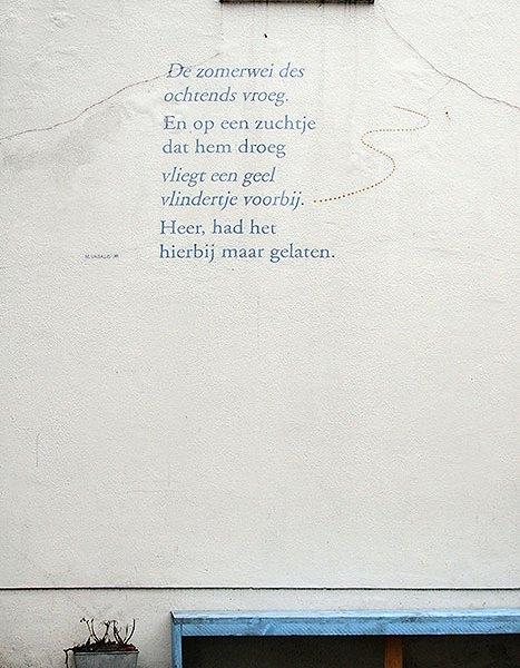 Straatpoëzie Den Bosch