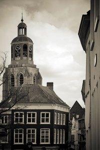 Peperbus de toren van de Sint-Gertrudiskerk te Bergen op Zoom