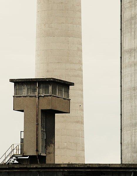 Oude fabrieken op het ENCI terrein