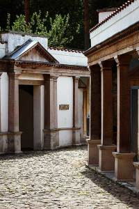 Romeinse straat in Museumpark Orientalis Heilig Landstichting