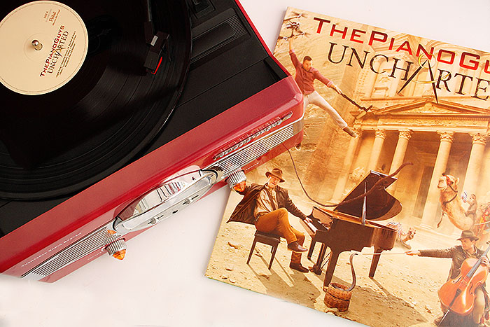 Op mijn platenspeler Piano Guys - Uncharted