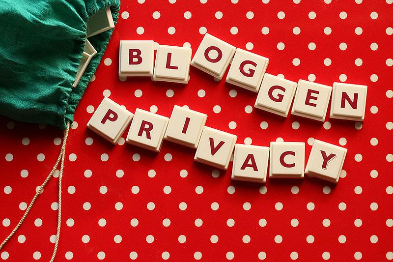 Bloggen en privacy