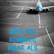 Zes woorden verhaal - Vliegveld