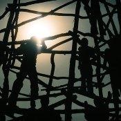 De Toren van Babel in openluchtmuseum Orientalis Heilig Landstichting