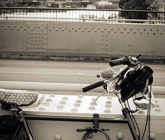 Ze fietst niet meer