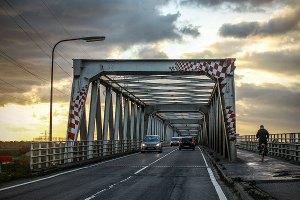 De brug bij Gennep