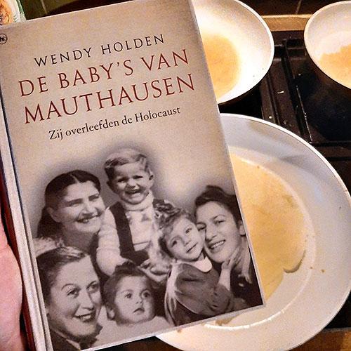 boek de baby's van Mauthausen