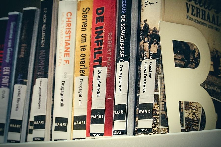 Mijn favoriete genre in de bibliotheek
