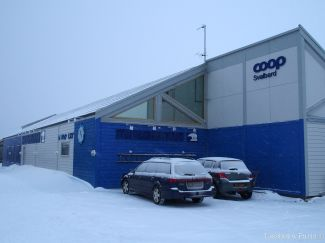 The supermarket: Coop - Svalbardbutikken
