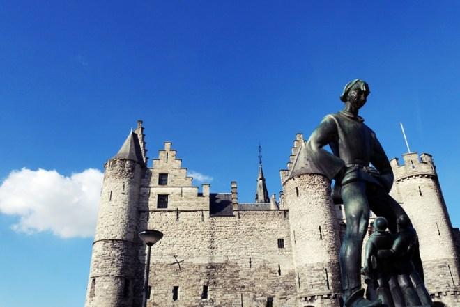 Burg in Antwerpen
