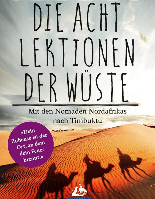 Cover zum Buch Die Acht Lektionen der Wüste von Nicholas Jubber